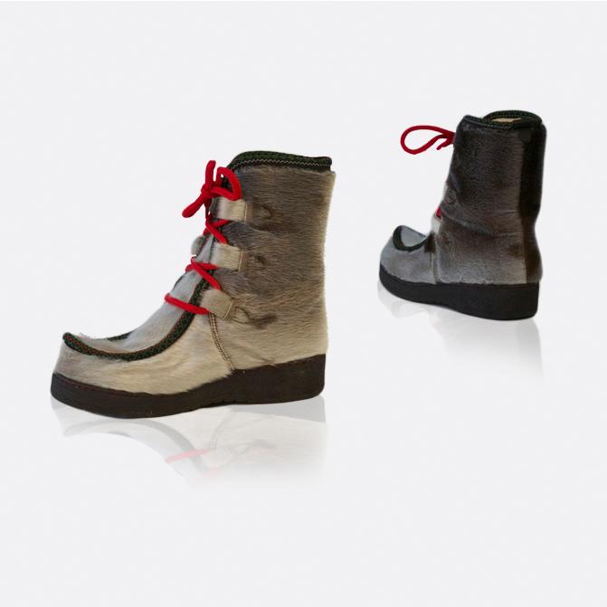 Støvle i grønlandsk sælskind