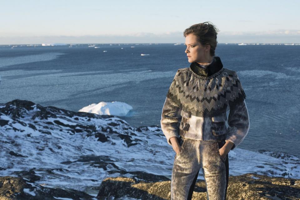 Iskrystalprinsessen af designer Jørgen Simonsen