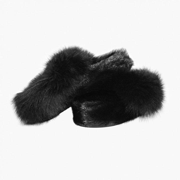 Sutsko i sort sælskin og polarræv