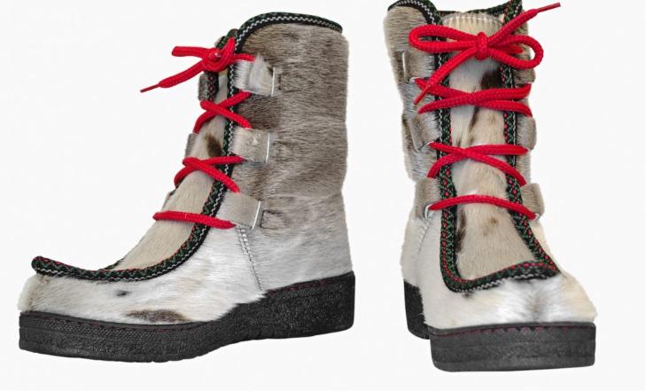 Støvler Topaz i grønlandsk sælskind