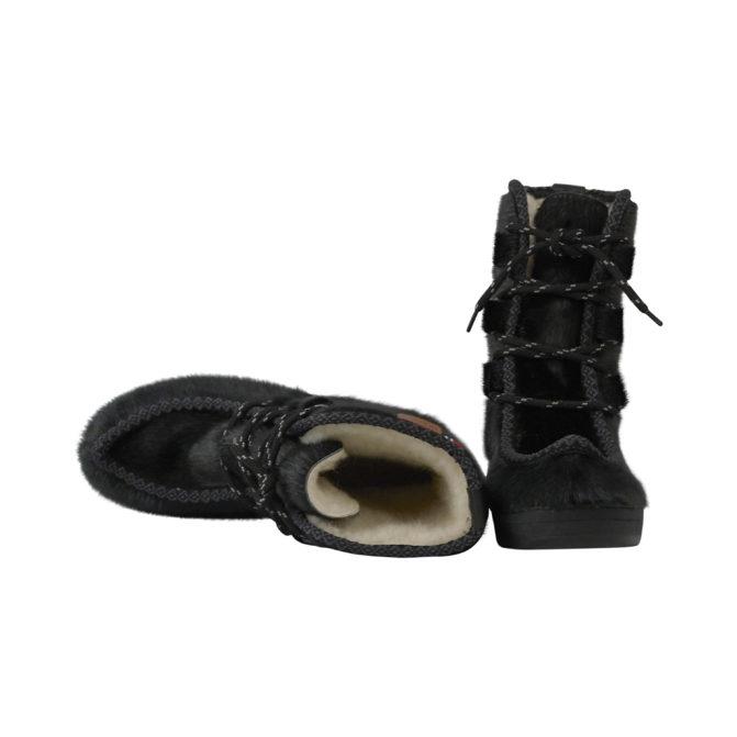 Støvle i sælskind og naturgummi