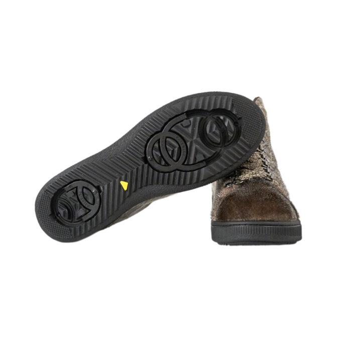 støvlet med patenteret sål