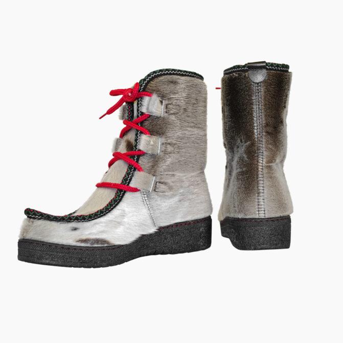 Støvler i sælskind til damer og herrer fra Topaz
