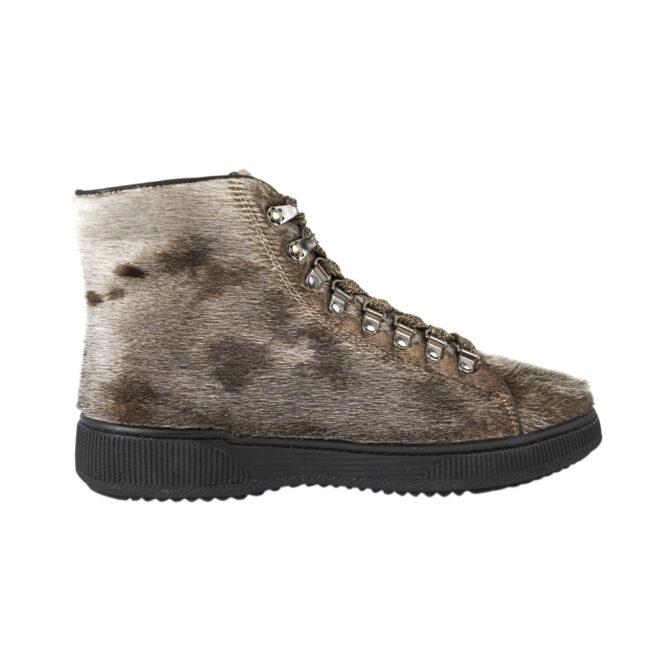 Støvle i natur sælskind - Hiking boot