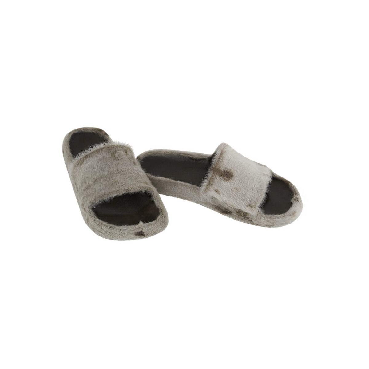 Sandaler i grønlandsk sælskind og fodformet sål