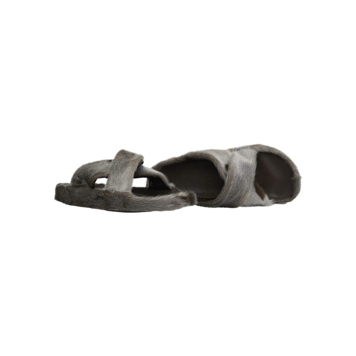 Sandal i sælskind - unisex model.