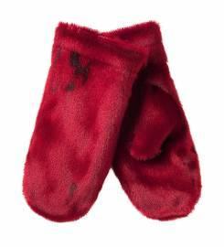 Røde luffer i grønlandsk sælskind