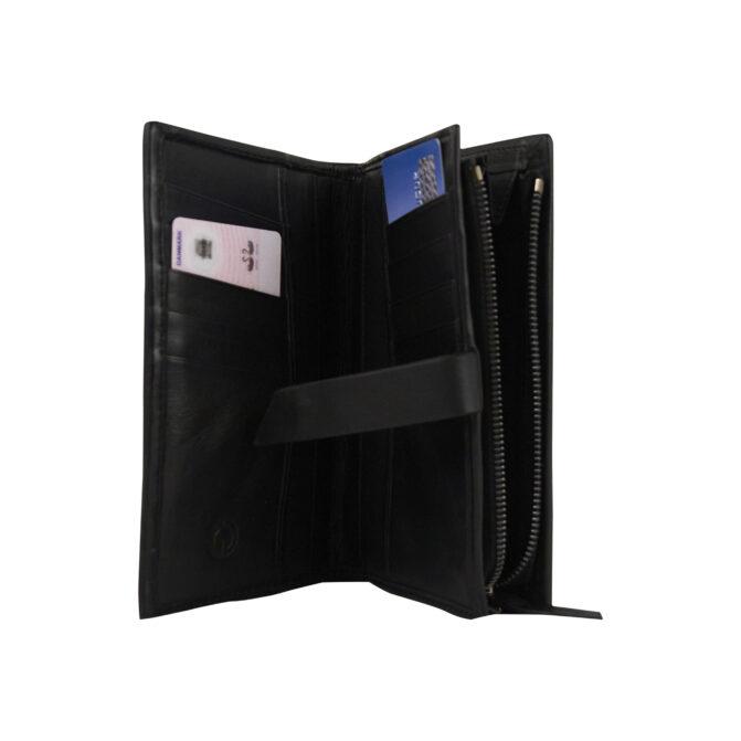 pung og kortholder i sælskind designet af Morten Ussing